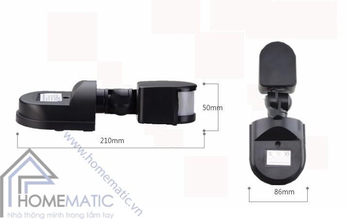 Công tắc cảm biến chuyển động hồng ngoại Allmay AM-TG-01