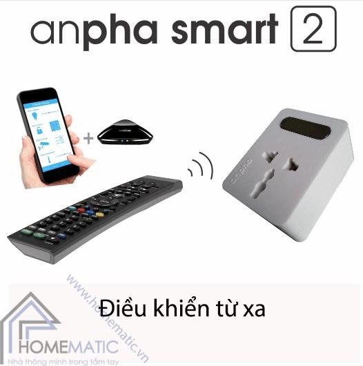 > Điều khiển cấp điện cho thiết bị từ xa một cách thông minh bằng bất kỳ loại remote hiện có nào trên thị trường hoặc kết hợp smartphone với trung tâm điều khiển nhà thông minh