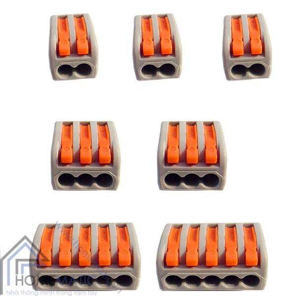Cút nối dây điện không cần nối dây, không cần kìm bấm KV774