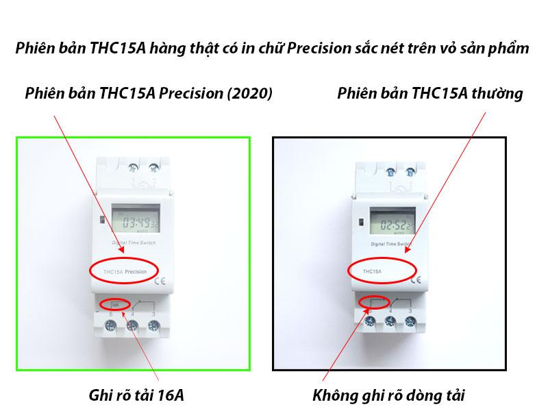 Công tắc hẹn giờ điện tử lập trình THC15A Precision