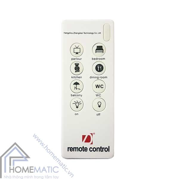 Remote điều khiển từ xa ngữ cảnh 8 nút cho nhà thông minh R2.7