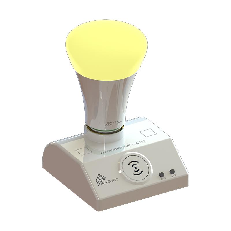 Đui đèn cảm biến chuyển động công nghệ radar vi sóng Homematic ALH200