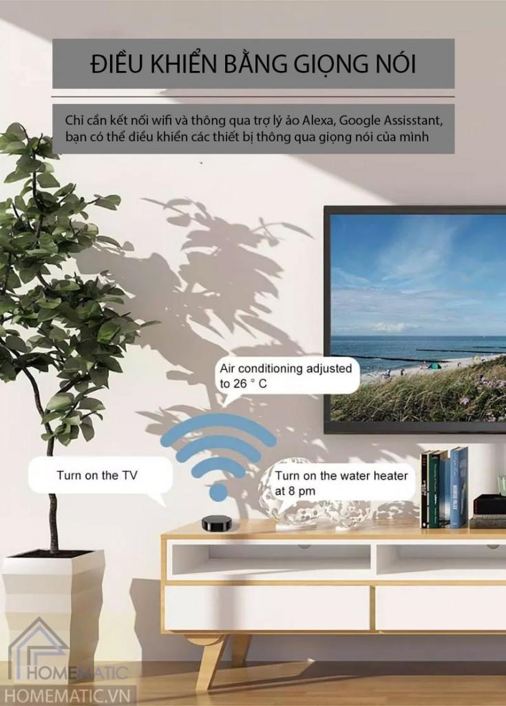Trung tâm điều khiển nhà thông minh đa tần số Smartlife YRC12U2