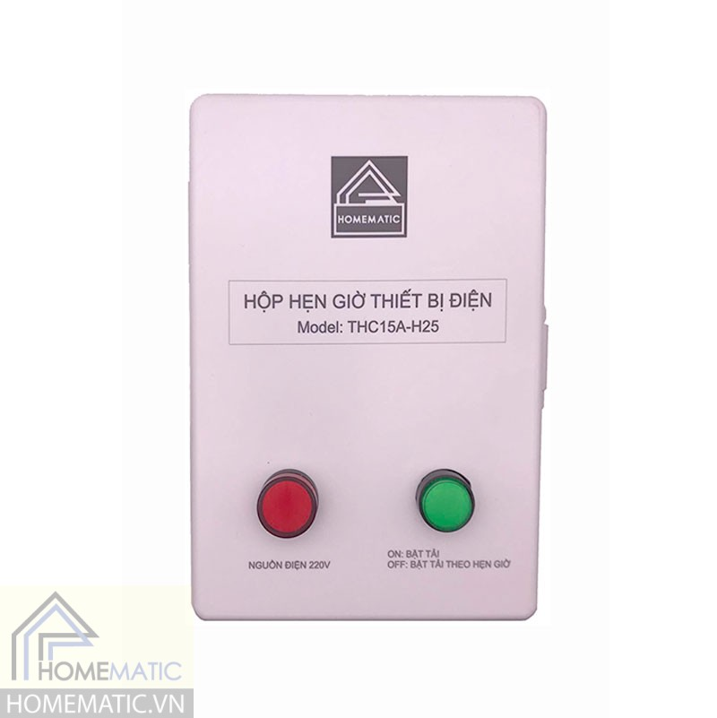 Hộp hẹn giờ thiết bị điện THC15A-H25