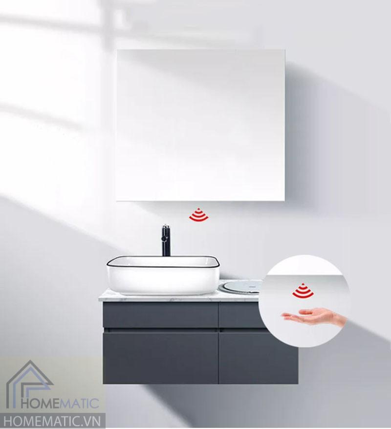 Công tắc gương cảm biến tiệm cận lắp đáy hộp gương HMCY-D12REA03