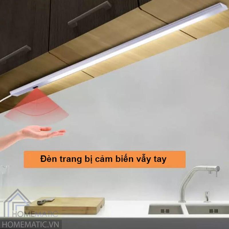 Đèn Led tủ bếp, tủ quần áo cảm biễn vẫy tay CGD-USB50