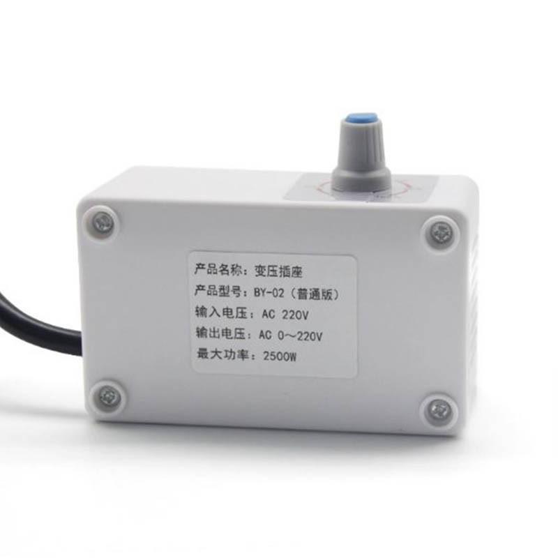 Ổ cắm biến áp, điều chỉnh điện áp 0- 220v BY02