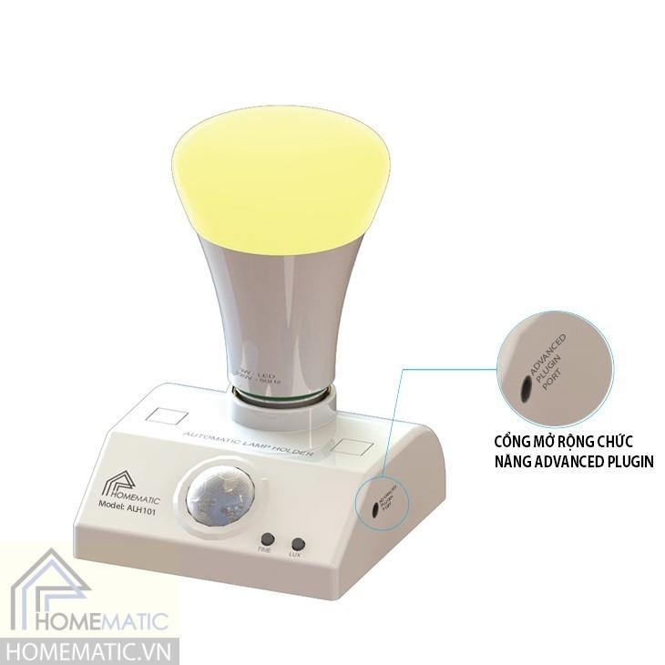 Đui đèn cao cấp cảm ứng PIR đa năng ALH101