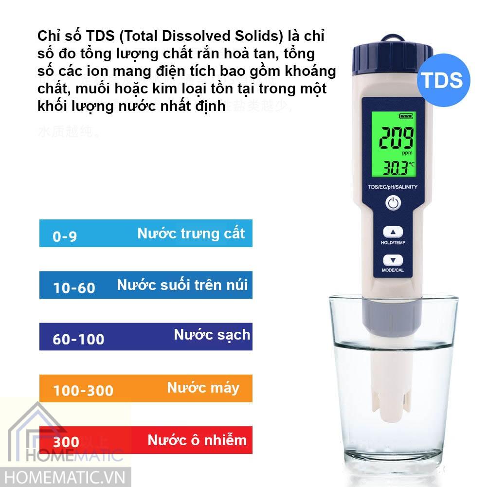 Thang đo độ trong của nước
