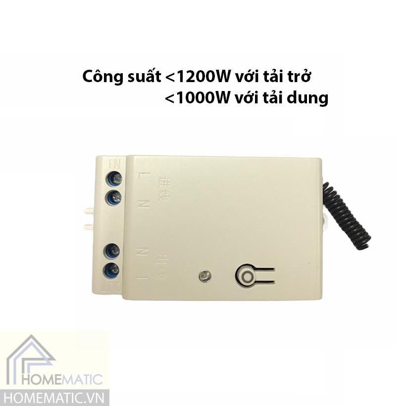 Công tắc phát sóng không dây không dùng pin RB4